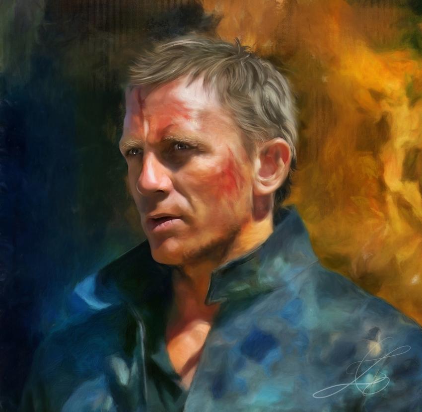 Daniel Craig by z6ig